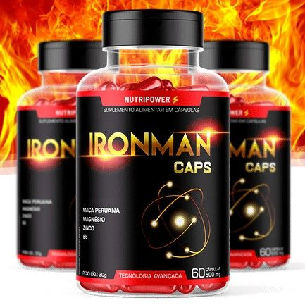 Iron Man Caps