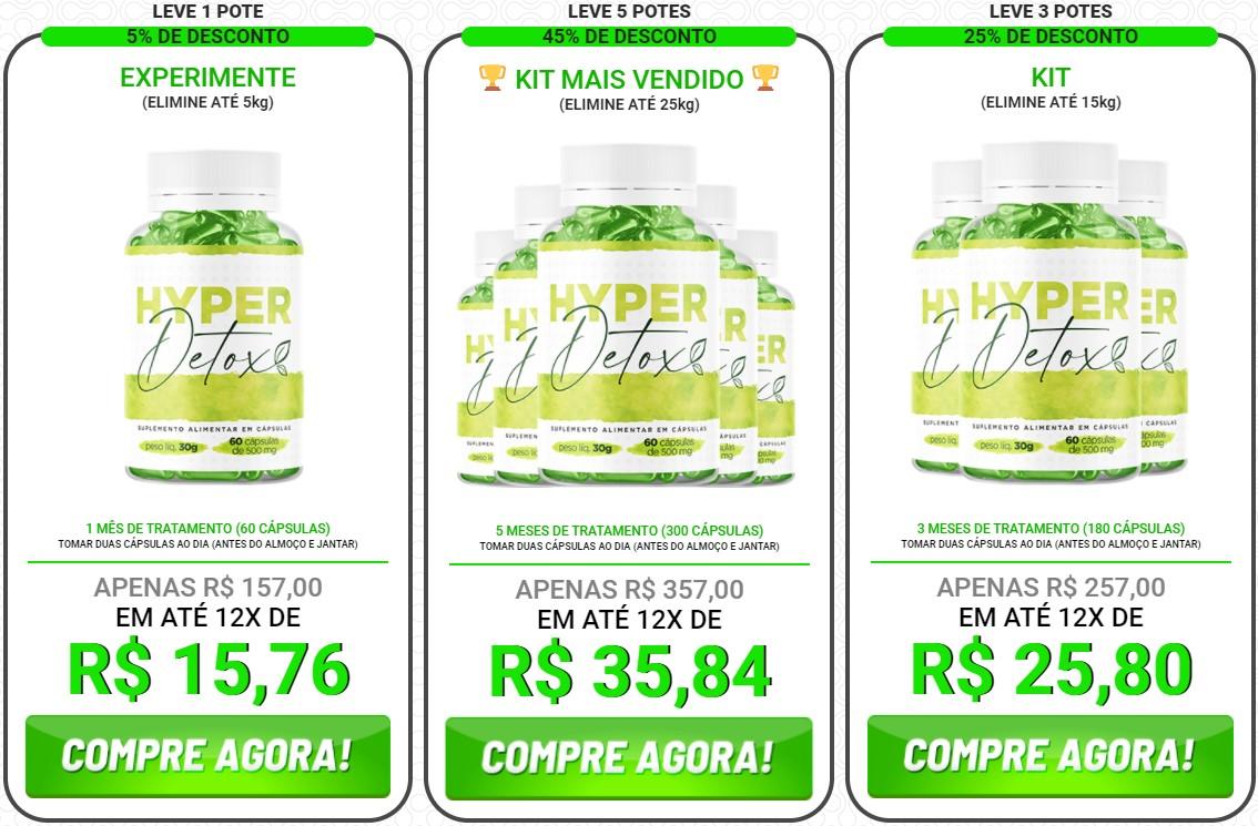 Hyper Detox Preço